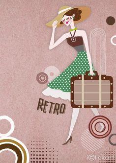 #레트로 #복고풍 #스타일 #패션 #소품 #추억 #일러스트 #스톡이미지 #엔파인 #아이클릭아트  #Retro #style #fashion #illustration #image #stockimage #npine #iclickart