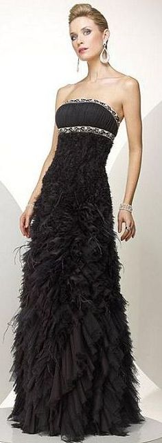 Alyce Black Label/  Here's another wedding gown stunner.