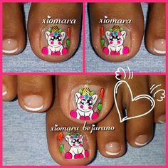 Toe Nail Art, Toe Nails, Makeup, Brush Pen, Finger Nails, Tatoo, Kid Nails, Bebe, Feet Nails