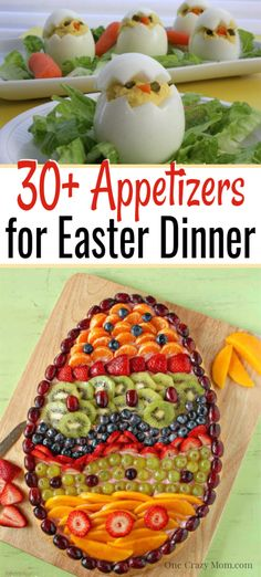 Quick and Easy Easter Appetizers - Over 25 Delicious Easter Appetizers We have Quick and Easy Easter Appetizers that are simple to make and sure to be a hit. These recipes are budget friendly and easy to put together. Easter Dinner, Easter Brunch, Easter Food, Easter Snacks, Easter Desserts, Easter Appetizers, Appetizer Recipes, Holiday Appetizers, Dip Recipes