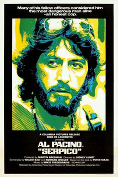 Return to the main poster page for Serpico