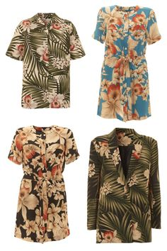 Topshop x Maarten van der Horst #fashion #tropical