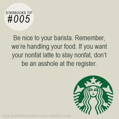 rants, tips and tricks from a very hostile barista