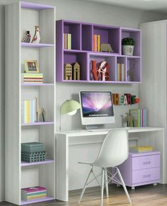 √ Most Popular Study Table Designs and Children's Chairs Today Study Desk Design In The Bedroom Home Office Design, Home Office Decor, Home Design, Interior Design, Design Ideas, Office Designs, Office Ideas, Office Table, Interior Colors