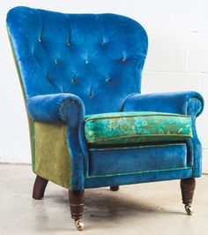 Bespoke Re-Covering and Embroidery - Furniture can be sourced to specification and re-upholstered.