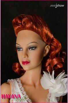 JAMIEshow Havana Nights Rooted Wig Cap Redhead