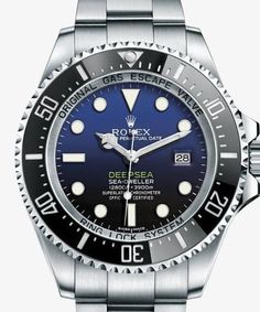 Rolex Deepsea Sea-Dweller D-Blue Dial Mens Watch 44mm - Replica Homage Watches for Sale