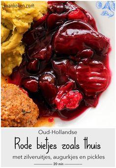 Beet Recipes, Vegetarian Recipes, Dutch Recipes, 20 Min, Love Cake, Beetroot, Beets, No Cook Meals, Cabbage