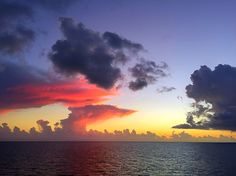 Freedom Of The Seas, Royal Caribbean Cruise, Clouds, Celestial, Sunset, Outdoor, Sunsets, Outdoors, Outdoor Games