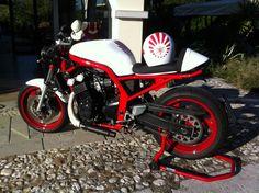 Yamaha fazer 600 cafe racer