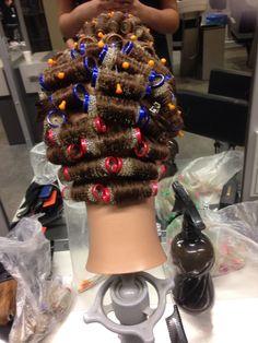 Sleep In Hair Rollers, Curlers, Dreadlocks, Hair Styles, Beauty, Hair Plait Styles, Hair Makeup, Hairdos, Haircut Styles
