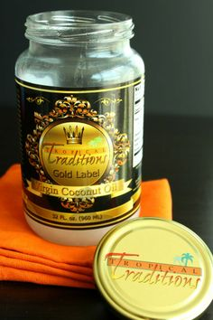 Tropical Traditions Gold Label Virgin Coconut Oil Giveaway!