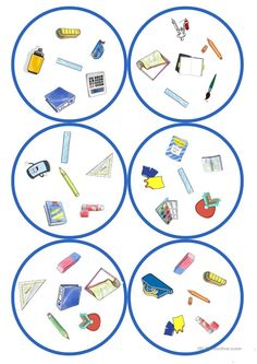 Games in German lessons: Dobble - school supplies cards / 6 symbols) - Holly's Education Archive Languages Online, Foreign Languages, Ways Of Learning, Student Learning, Importance Of Education, Classroom Language, Learn A New Language, German Language, Continuing Education