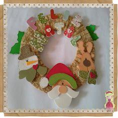 Natal, Guirlanda, Papai Noel