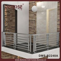 result for balcony railing stainless steel Steel Grill Design, Steel Railing Design, Staircase Railing Design, Outdoor Stair Railing, Modern Stair Railing, Modern Stairs, Window Grill Design Modern, Balcony Grill Design, Balcony Railing Design