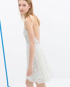 White Dress - Zara TRF
