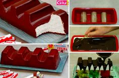 La recette du Kinder Maxi, pour vous ramener en enfance Crockpot Recipes, Cooking Recipes, Serbian Recipes, Ice Cream Candy, Handmade Chocolates, No Sugar Foods, Cakes And More, Cake Cookies, Sweet Recipes