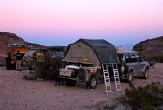 The CalZona Expedition Camp site