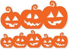 Silhouette Online Store - View Design #21903: pumpkin borders