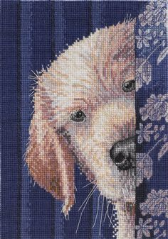 Bucilla Heirloom Collection I Didn't Do It Counted Cross Stitch Kit