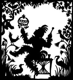 Lotte Reiniger - The Fairy Lyric Opera, Shadow Theatre, Paper Art, Paper Crafts, The Magic Flute, Shadow Puppets, Egg Decorating, Artsy Fartsy, Paper Cutting