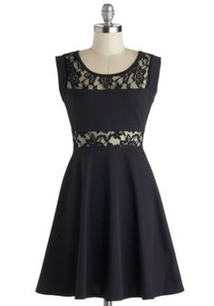 East Side Storybook Dress. There's a timeless tale of romance about you and this black dress! #black #modcloth