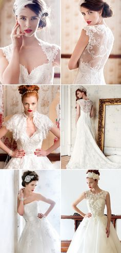 27 Elegant 2014 Bridal Gowns - Charlotte Balbier