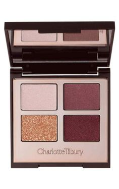 Charlotte Tilbury eyeshadow palette. Product and packaging inspiration. Oooohhhhh