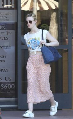 Elle Fanning from The Big Picture: Today's Hot Photos Summer chic! The actress is spotted running errands in Los Angeles.