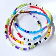 Toy Story Individual Beaded Bracelet Set Stretch Bracelets | Etsy Stack Bracelets, Stackable Bracelets, Seed Bead Bracelets, Bracelet Clasps, Colorful Bracelets, Stretch Bracelets, Bracelet Set, Layered Jewelry, Summer Jewelry