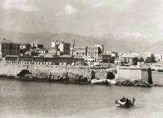 Heraklion Crete, Greek Independence, Crete Island, Simple Photo, Old Maps, Amazing Destinations, Athens, Vintage Photos, New York Skyline