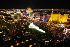 The Las Vegas Strip! There's nowhere else like it in the world.