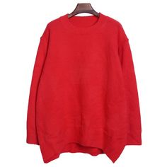 Solid Color All-Match Casual Jewel Neck Long Sleeve Women's Sweater