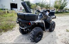 New 2017 Can-Am Outlander Mossy Oak Hunting Edition 1000 ATVs For Sale in Florida. 2017 Can-Am Outlander Mossy Oak Hunting Edition 1000R, FREE GO PRO OR UTILITY TRAILER WHEN PURCHASED AT MSRP! OUR MOST POWERFUL HUNTING PACKAGE! Combine Mossy Oak s new Break-Up Country pattern with factory-installed hunting accessories and the power of the Rotax® 1000R engine and you get the ultimate hunting package Financing is available and trades are welcome! Contact us today at 1-866-478-7450!! SPEAKER…