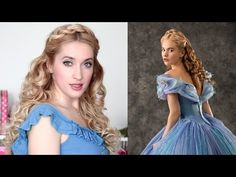 Cinderella hair tutorial + GIVEAWAY ♥ Prom/wedding hairstyle for long hair - YouTube