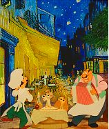 Disney Art - Lady and the Tramp