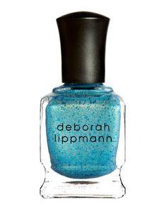 Mermaid\'s Eye Glitter Nail Lacquer by Deborah Lippmann at Neiman Marcus.