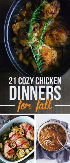 I actually want to make ALL of these! 21 Fall Recipes For All Your Favorite Chicken Parts