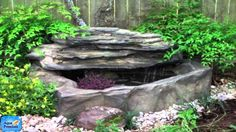 Petite Pools - Small Patio Pond by Universal Rocks – Marquis Gardens Patio Pond, Pond Landscaping, Ponds Backyard, Landscaping With Rocks, Garden Pond, Garden Gnomes, Backyard Ideas, Diy Pond, Patio Ideas