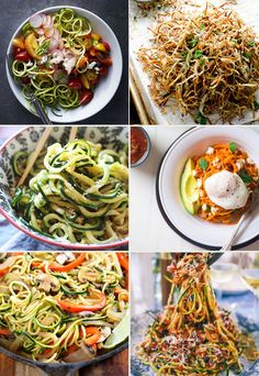 Wondering what to do with your spiralizer? From sweet potato fries and creamy zoodles to carrot rice and beet noodles, here are 14 spiralizer recipes to make the most of this secret weapon for heal...