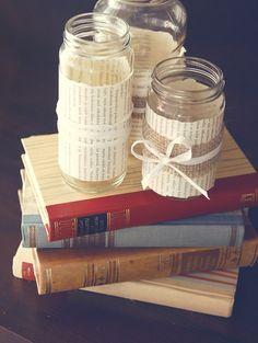 Мастерим декоративные баночки для хранения мелочей