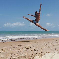 Bailarino Gabriel Ritzmann em Natal RN