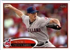 2012 Topps Baseball Card #469 Vinnie Pestano - Cleveland Indians - MLB Trading Card by Topps. $1.82. 2012 Topps Baseball Card #469 Vinnie Pestano - Cleveland Indians - MLB Trading Card