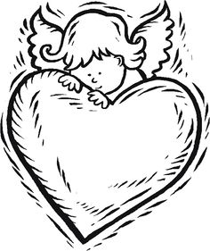 free valentine coloring pictures to print off   valentines day 14 coloring page click to print image only without ads