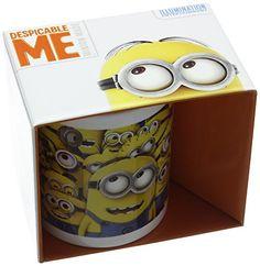 Ich-Einfach Unverbesserlich 2 Minions/Tasse aus Keramik - http://geschirrkaufen.online/despicable-me-3/ich-einfach-unverbesserlich-2-minions-tasse-aus