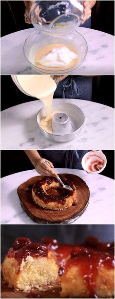 Bolo Capixaba é fácil de fazer e vai agradar todos os paladares. #bolo #delicia #doces #receita #gastronomia #culinaria #comida #delicia #receitafacil