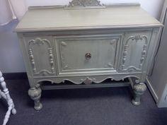 Handpainted Furniture Blog, Shabby Chic Vintage Painted Furniture: Vintage Painted Shabby Chic Buffet Server Sideboard