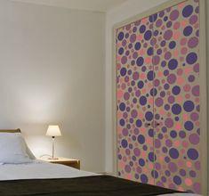 Estilo Retro, Curtains, Home Decor, Geometric Form, Bubbles, Wardrobes, House Decorations, Homemade Home Decor, Interior Design