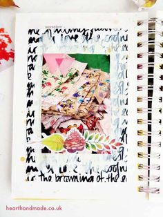 Are you Art Journal Lovers? Ever wondered how to create your own art journal therapy? This post will show you the simplest ways to get you up & running! Art Journal Prompts, Art Journal Techniques, Journal Layout, Journal Pages, Art Journaling, Journal Ideas, Journals, Junk Journal, Writing Prompts