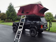 ROOFTOP TENT LIVING — CVT BURGUNDY | CHRIS WELCH Rooftoptent Living...